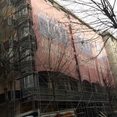 ünlü apartmanı istanbul bahçelievler mantolama