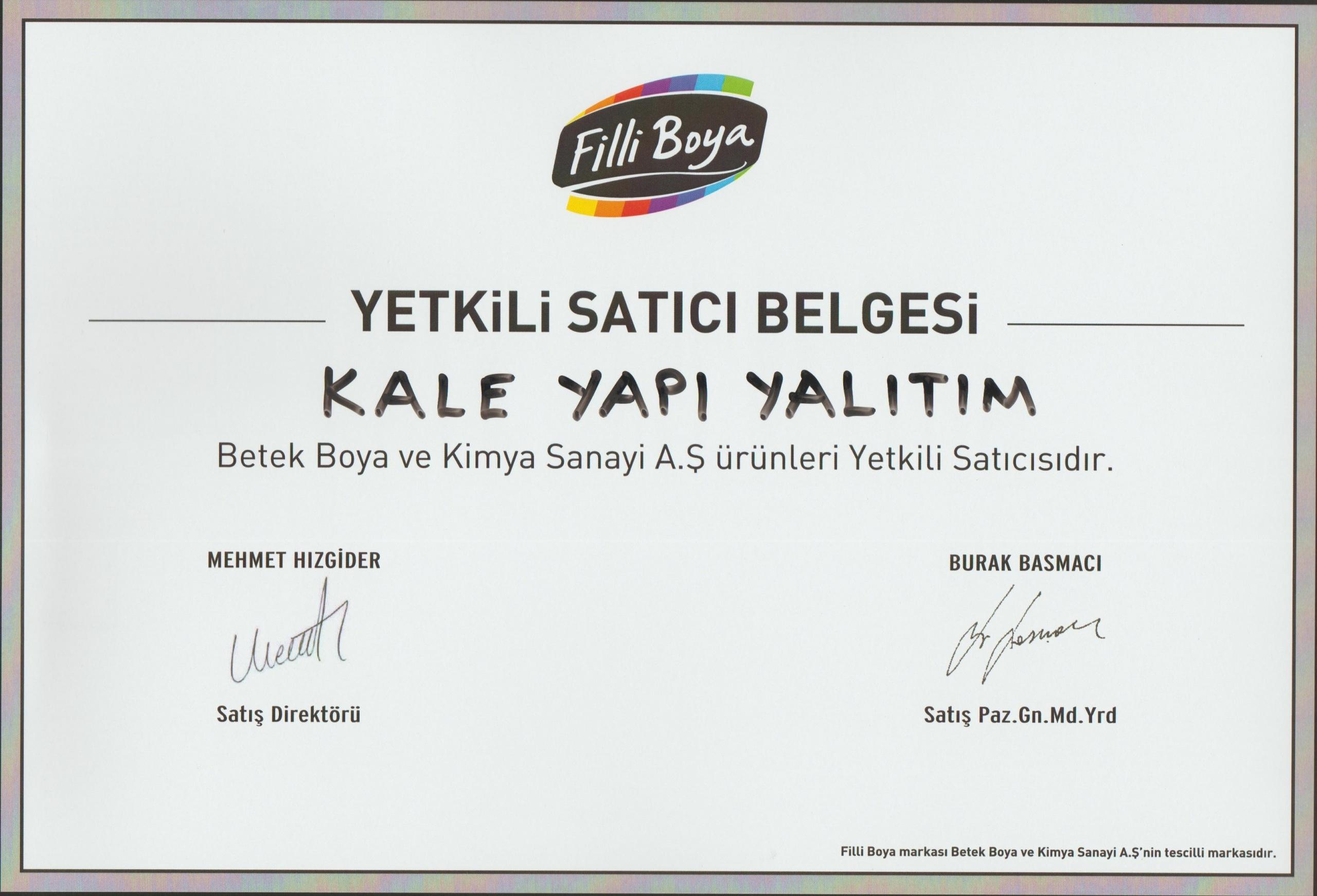 FİLLİ BOYA BAYİİ